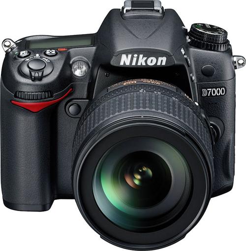 Nikon D7000 DSLR-kamera